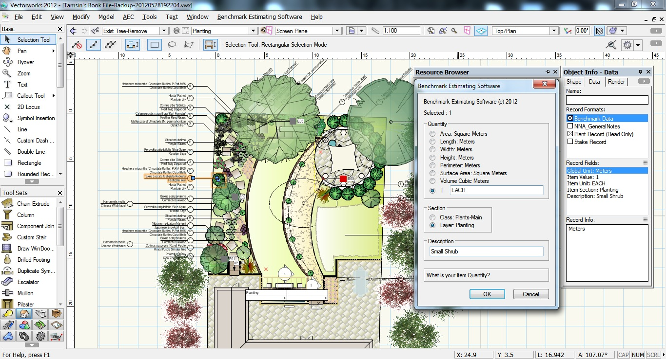 Vectorworks training news from design software solutions for Garden design workbook